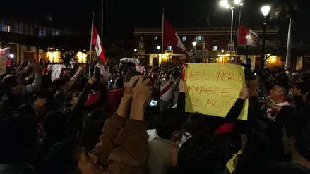 Estudiantes se oponen a retorno de Orlando Velásquez a UNT