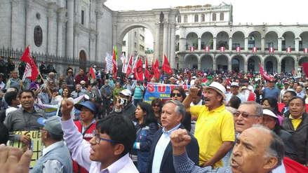 Video | Así se cumplió la movilización en rechazó a la corrupción en Arequipa