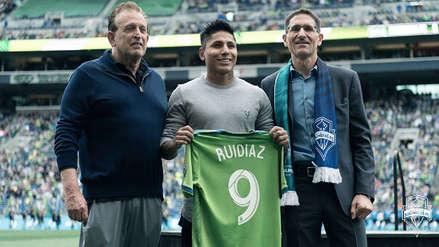 Raúl Ruidíaz se alista para debutar con el Seattle Sounders en la MLS