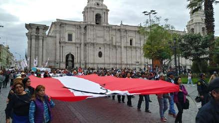 Regiones marchan contra la corrupción en las instituciones judiciales