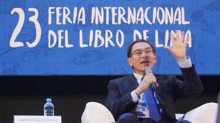 FIL Lima 2018: Martín Vizcarra es el primer presidente en inaugurar una feria del libro