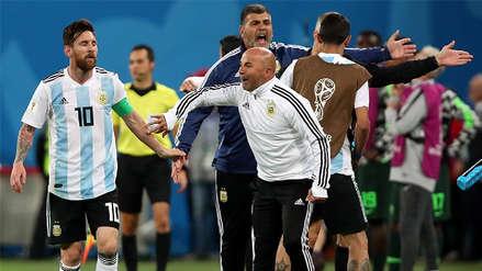 Revelan la charla entre Lionel Messi y Jorge Sampaoli tras caer con Croacia en Rusia 2018