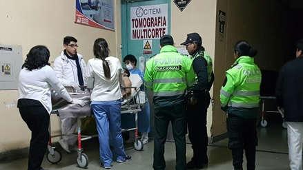 Arequipa: Dos heridos de bala deja persecución policial