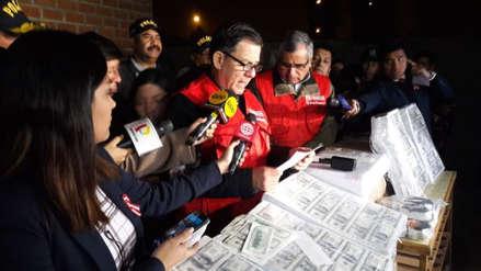 La Policía desbarató a una banda que falsificaba millones de dólares y soles