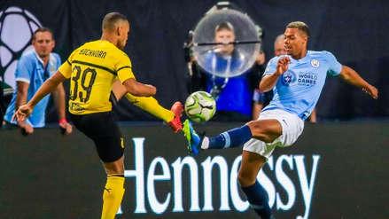 Borussia Dortmund venció 1-0 al Manchester City por la International Champions Cup