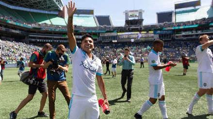 El noble gesto de Raúl Ruidíaz con peruanos que fueron a ver su debut con Seattle Sounders
