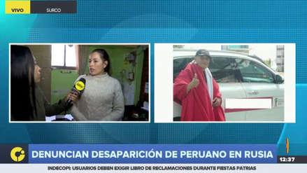 Familia denunció la desaparición de un peruano que viajó a Rusia por el Mundial
