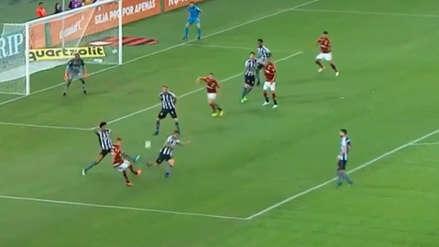 El espectacular gol que se anotó en el Flamengo vs. Botafogo
