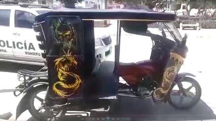 Menor de 12 años que robó una mototaxi en Monsefú asegura estar arrepentido