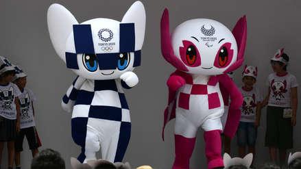 Tokio bautizó a las futuristas mascotas de los Juegos Olímpicos 2020