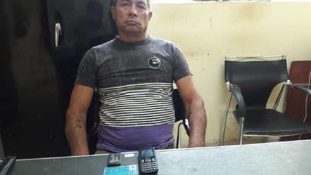 Dos personas intervenidas al pretender ingresar un chip y un celular al penal
