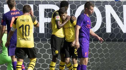 Borussia Dortmund venció por 3-1 al Liverpool con un doblete de Christian Pulisic