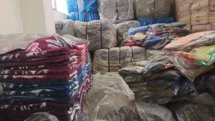 Entregan frazadas y ropa de abrigo a zonas altoandinas por bajas temperaturas