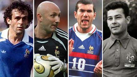 Los 10 mejores jugadores franceses de la historia, según L'Equipe