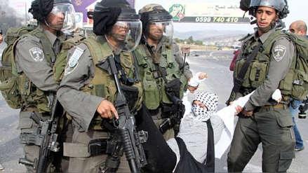 La ONU denuncia que más de 400 niños palestinos están detenidos en Israel