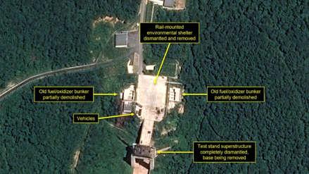 Corea del Norte comenzó a desmantelar su base de misiles, según satélite