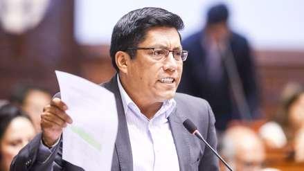Zeballos se pronunció sobre comunicado del Apra que pide su cese como ministro de Justicia