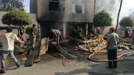 Incendio deja S/1.5 millones en pérdidas en Trujillo