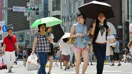 Ola de calor en Japón deja 40 muertos y miles buscando hospitalización