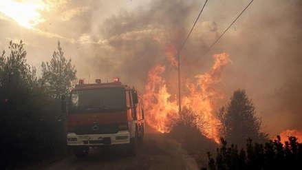 Al menos 20 muertos en los incendios en Grecia