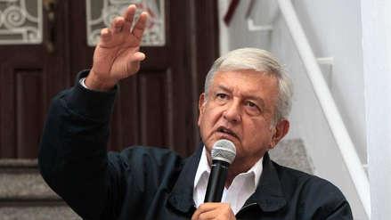 López Obrador anuncia US$ 26,329 millones en proyectos prioritarios