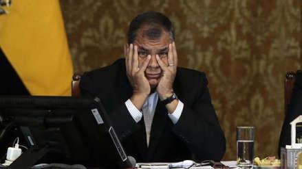 Corte de Ecuador rechaza apelación de Rafael Correa contra orden de prisión