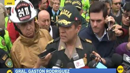 Policía maneja hipótesis de que explosiones en clínica fueron para extorsión o amedrentamiento
