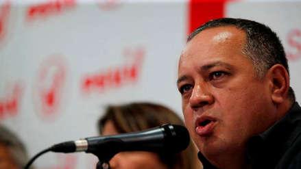 Diosdado Cabello negó éxodo migratorio de venezolanos hacia Colombia