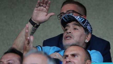 """Maradona dice que la Asociación del Fútbol Argentino es """"un desastre"""""""