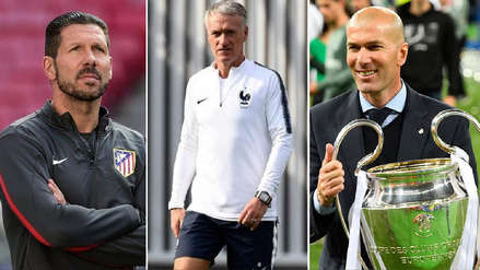 Simeone, Deschamps y Zidane, nominados al 'The Best 2018'