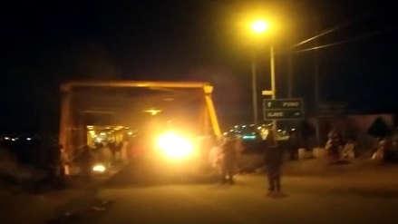 Puno: Inician paro de 48 horas con bloqueo del puente de Ilave