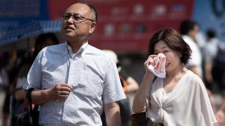 Japón | OIa de calor deja 80 muertos hasta el momento y llena los hospitales