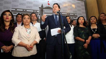 Fuerza Popular eligió por unanimidad a Daniel Salaverry para presidir la Mesa Directiva
