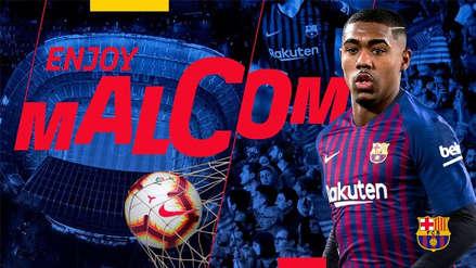 Malcom, el jugador que Barcelona le 'robó' a la Roma