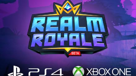 Únete a la beta cerrada de Realm Royale para PlayStation 4 y Xbox One