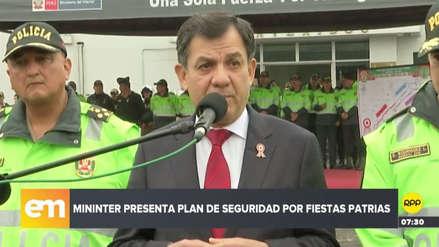 """Mauro Medina: """"Hay personas inescrupulosas que están llamando a vulnerar la democracia"""""""