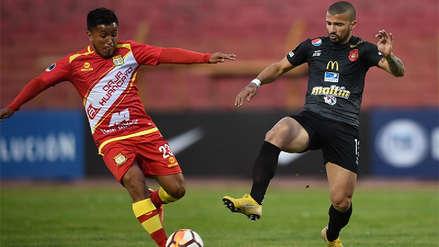Sport Huancayo perdió con Caracas FC y se despidió de la Copa Sudamericana