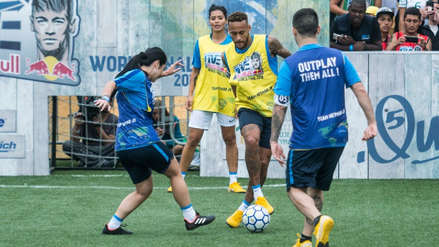 Neymar hizo sus primeros toques de la temporada en la final del torneo que organiza