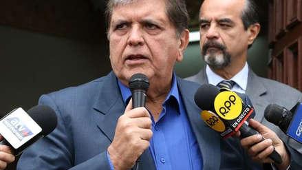 Alan García respaldó a Mulder tras difusión de audios suyos con el juez Hinostroza