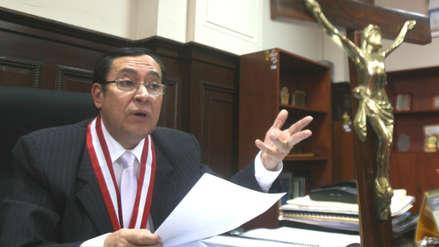 Presidente del PJ planteará que autoridades de Corte Suprema sean elegidas por voto universal