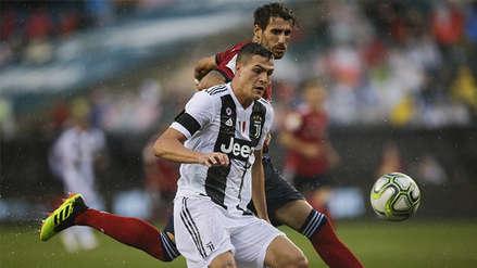 Juventus se estrenó en la temporada con victoria por 2-0 sobre Bayern Múnich