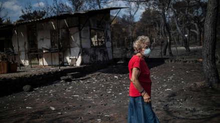 Autoridades de Grecia sospechan que los incendios fueron provocados por