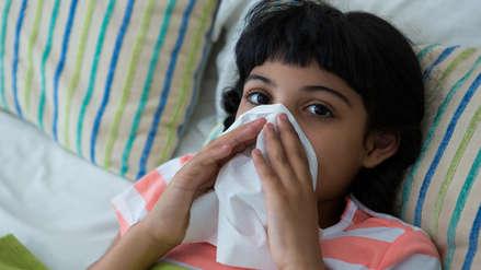 Los resfríos aumentan hasta en 60% durante invierno