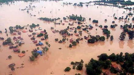 Al menos 131 desaparecidos tras rotura de una presa en el sur de Laos