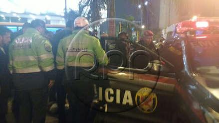 Lima | Un policía fue acuchillado en el Óvalo de Miraflores