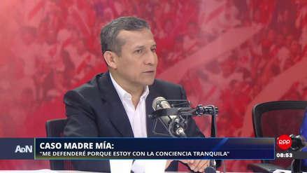 """Humala sobre Madre Mía: """"Estoy con la conciencia tranquila, jamás he violado derechos humanos"""""""