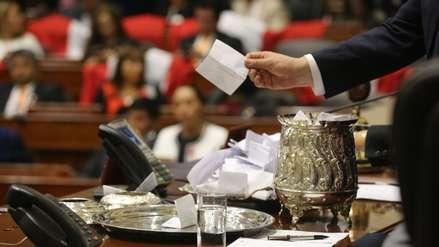 Así fue la votación para la presidencia del Congreso entre Salaverry y García Belaunde