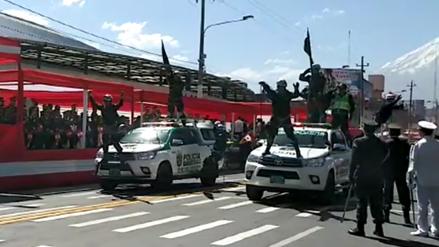 Video   Desfile Cívico Militar se realizó en Arequipa