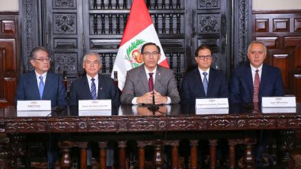 Martín Vizcarra anunció el inicio del megaproyecto minero Quellaveco