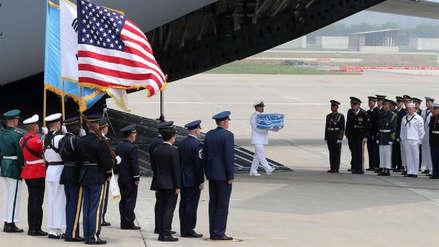 Corea del Norte entregó a EE.UU. los restos de los soldados muertos en la Guerra de Corea